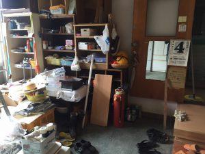 整理前の玄関
