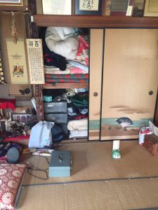 遺品整理前のお部屋