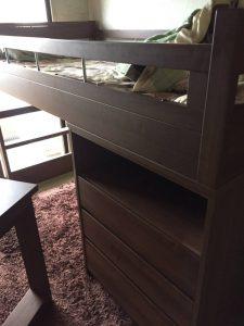 二段ベッドの回収処分