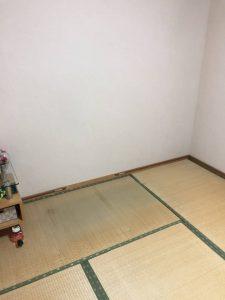 不用品回収後の室内の画像