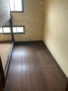 家具回収後のスッキリした室内空間